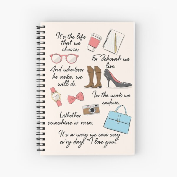 The Life of a Pioneer (For Her) Spiral Notebook