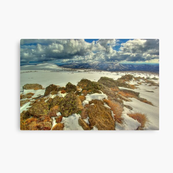 Mount Bogong from Mount Nelse Metal Print