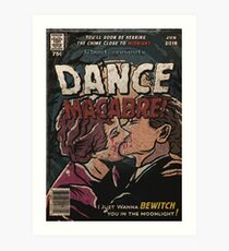 Dance Macabre - Ghost Comic Series Art Print