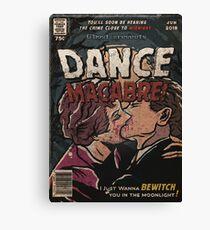 Dance Macabre - Ghost Comic Series Canvas Print