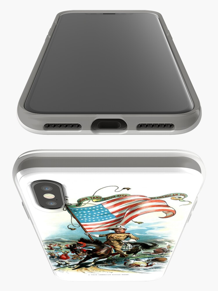 Alternate view of 1902 Rough Rider Teddy Roosevelt iPhone Cases & Covers