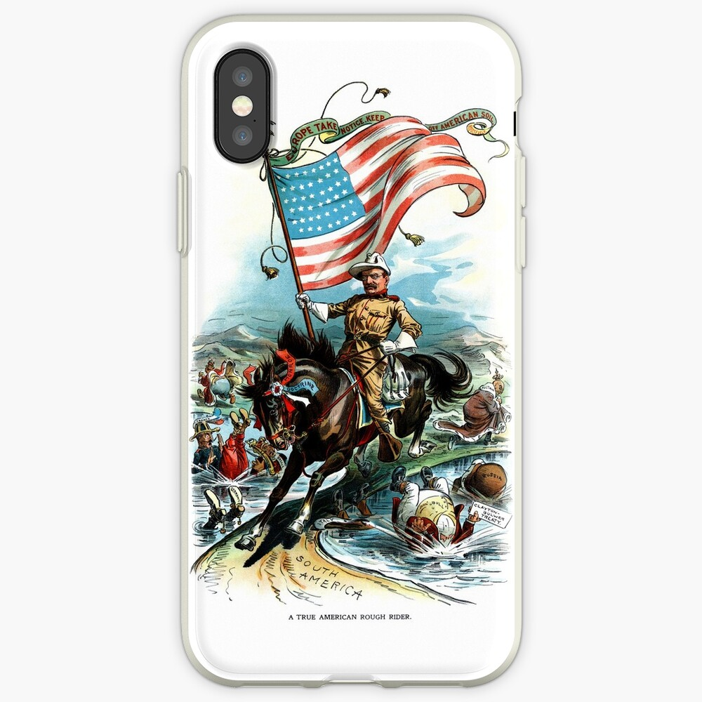 1902 Rough Rider Teddy Roosevelt iPhone Cases & Covers