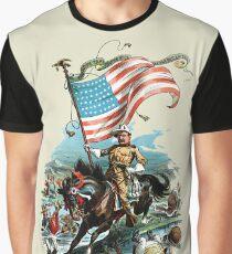 1902 Rough Rider Teddy Roosevelt Graphic T-Shirt
