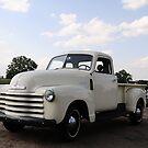 1950 Chevy Truck #3 by Stevemckinnis