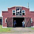 Demchuk Blacksmith Shop - Ukrainian Cultural Heritage Village, near Edmonton, Alberta, Canada by Adrian Paul