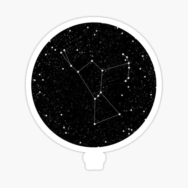 Orion Constellation Night Sky Sticker