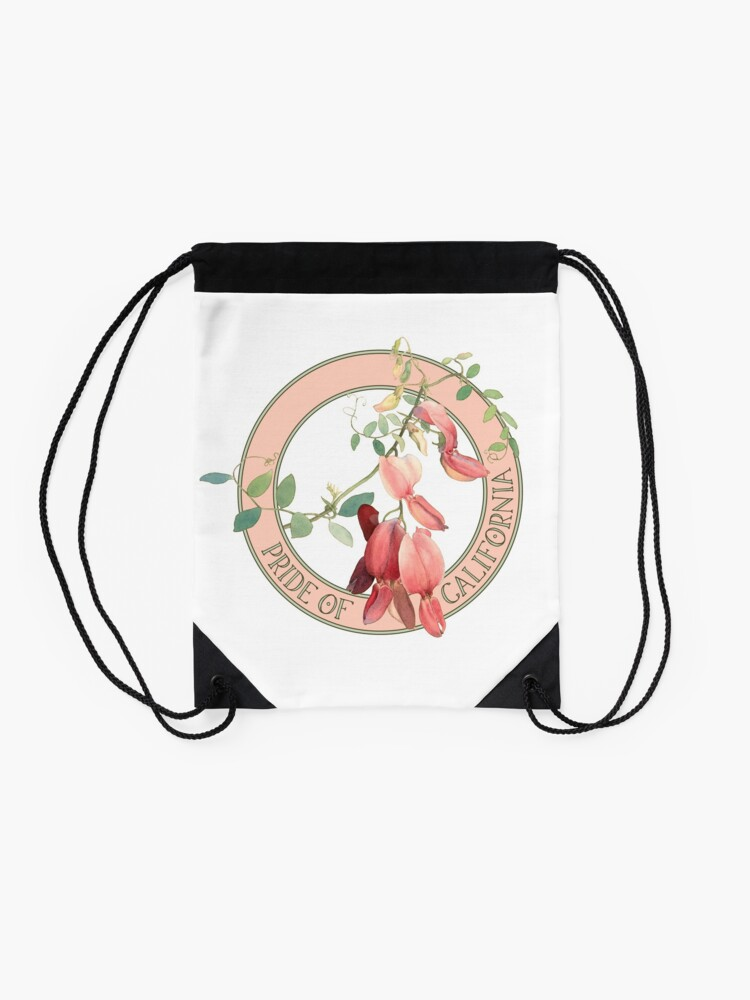 Alternate view of Pride of California Drawstring Bag