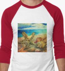 Treasure Men's Baseball ¾ T-Shirt