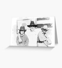 The Outlaws Greeting Card