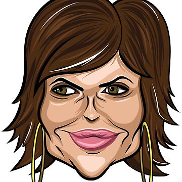 Real Housewives Lisa Rinna Caricature by mkarap