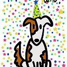 It's Pawty Time!, a Scruff-N-Fluff card by ginamitch