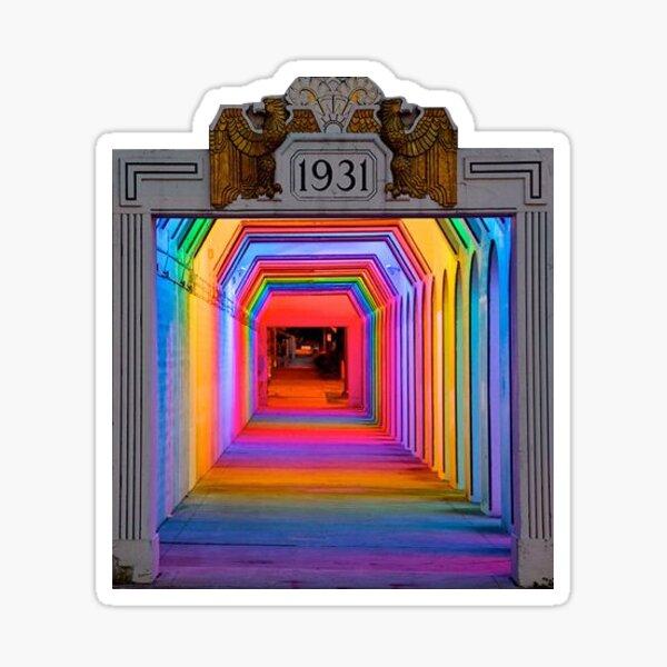 The Color Tunnel Sticker