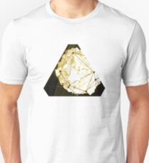 Abstract Geometry: Sand Palace (Deus Ex Gold) T-Shirt