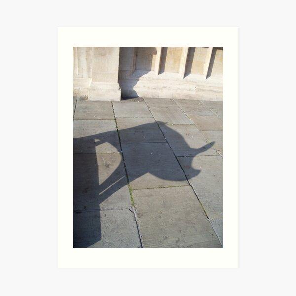 Pig Shadow Art Print