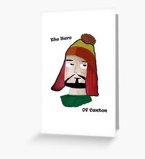 The Hero of Canton Greeting Card