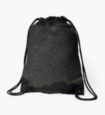 Milky Way over Zion National Park, Utah Drawstring Bag