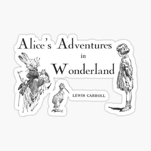 Alice's Adventures in Wonderland Sticker