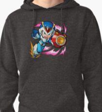 Chibi Megaman X / Rockman X w/ Light Armor Pullover Hoodie
