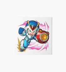 Chibi Megaman X / Rockman X w/ Light Armor Art Board