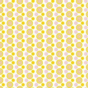 Summer Citrus Pattern - light by Theokotos