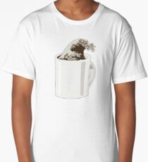 Cup O' Hokusai Long T-Shirt