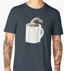 Cup O' Hokusai Men's Premium T-Shirt