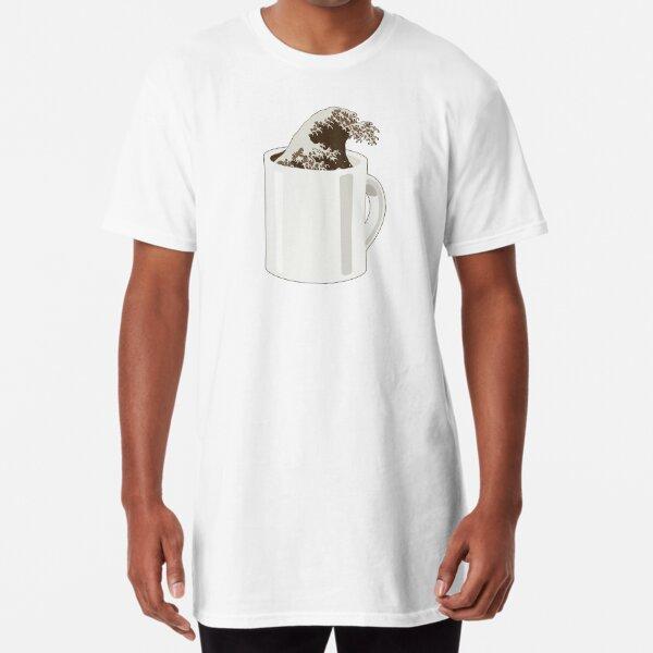 Cup O' Hokusai Long T-Shirt