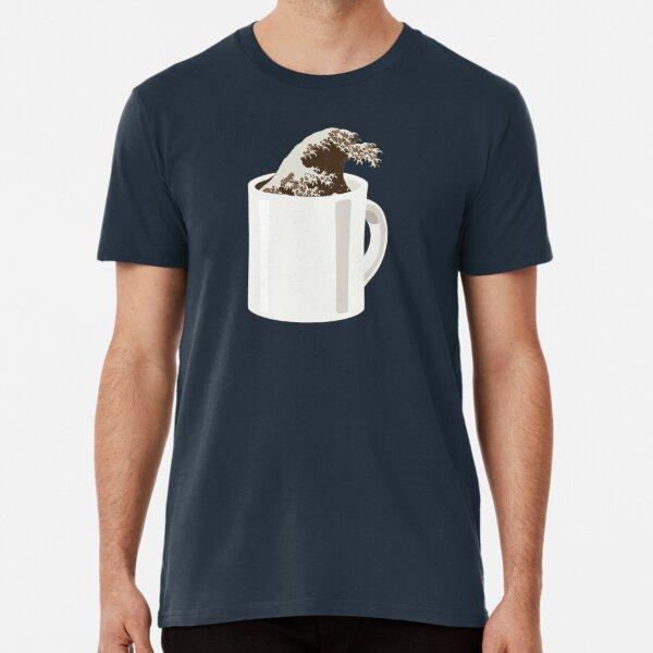 Cup O' Hokusai Premium T-Shirt