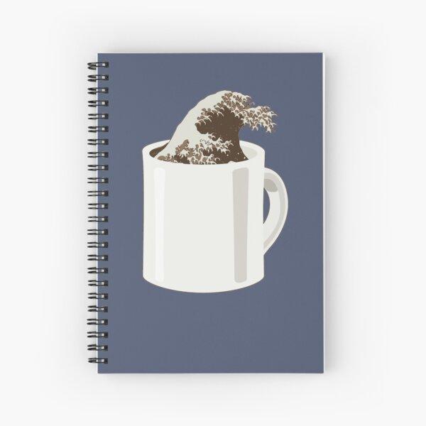 Cup O' Hokusai Spiral Notebook
