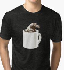 Cup O' Hokusai Tri-blend T-Shirt