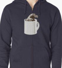 Cup O' Hokusai Zipped Hoodie