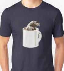 Cup O' Hokusai Slim Fit T-Shirt
