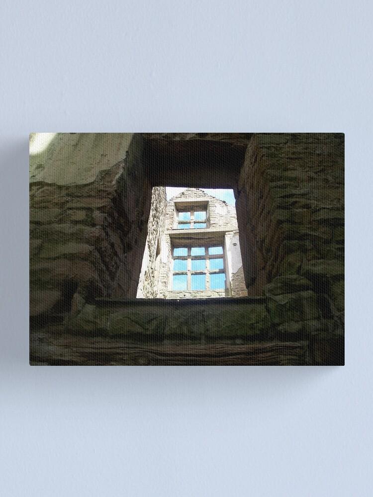 Alternate view of Hardwick Windows 4 Canvas Print
