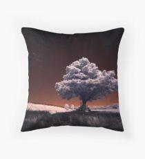 Tree (IR) Throw Pillow