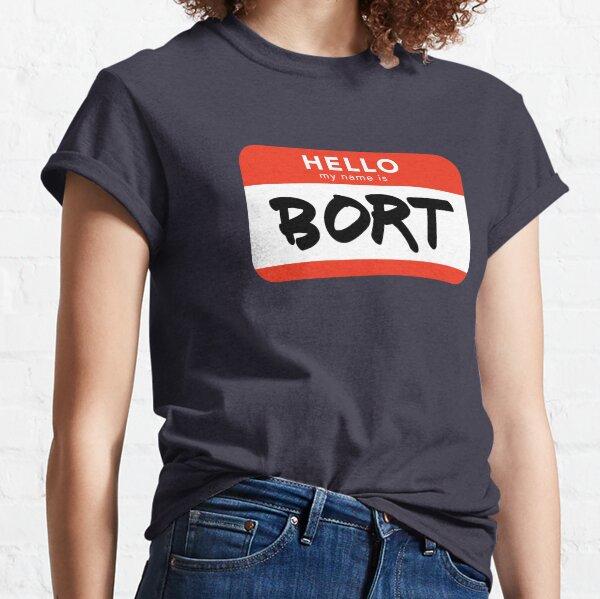 Bort Name Tag Classic T-Shirt
