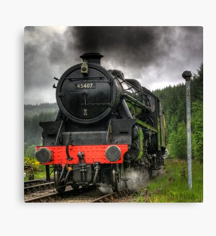 No.45407 A Closer View of The Lancashire Fusilier Canvas Print
