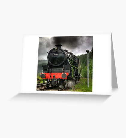 No.45407 A Closer View of The Lancashire Fusilier Greeting Card
