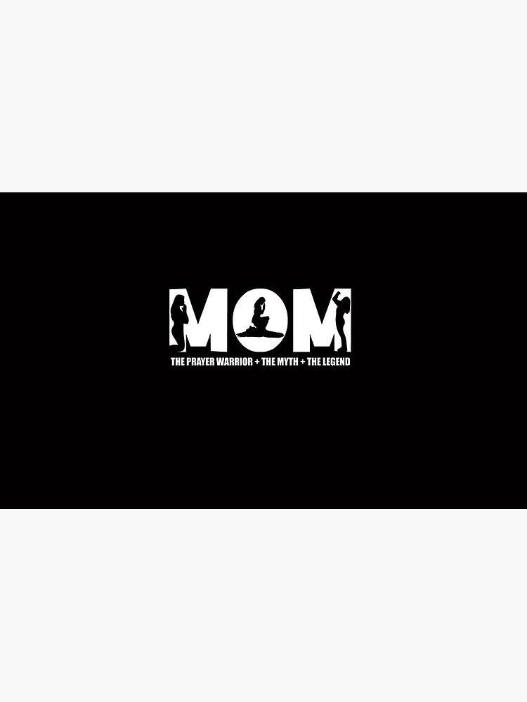 Womens Prayer Warrior For Women/Mom - the myth the legend tshirt by TCCPublishing