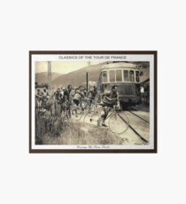 TOUR de FRANCE: Jahrgang 1937 Bike Racing Print Galeriedruck