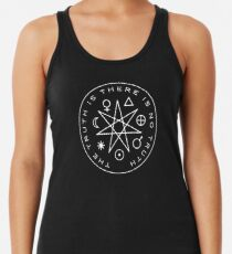 The Truth Is Racerback Tank Top