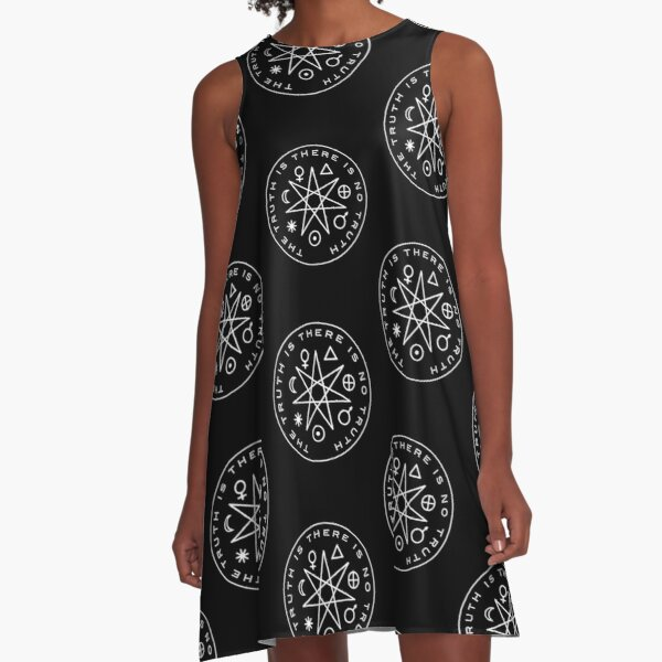 The Truth Is A-Line Dress