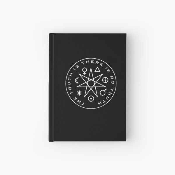 The Truth Is Hardcover Journal