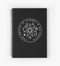 The Truth Is Spiral Notebook