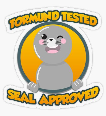 Seal of Approval Transparent Sticker