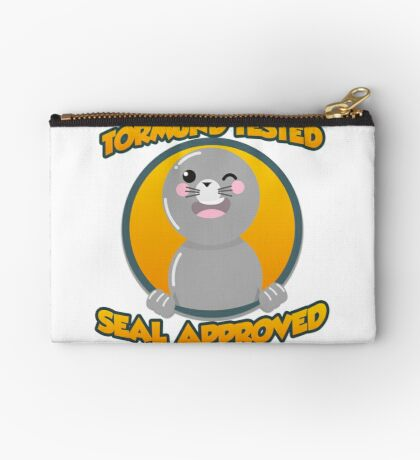 Seal of Approval Zipper Pouch