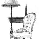 Lamp and Chair by liljo