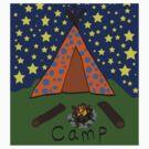 Camp by ginamitch