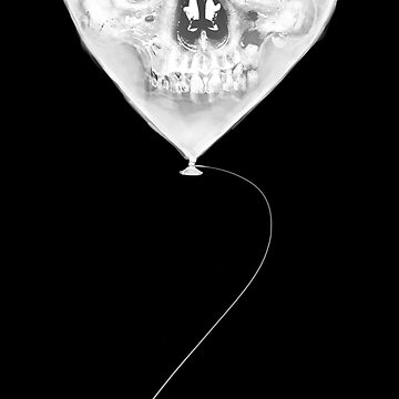 Balloon Skull by gastaocared