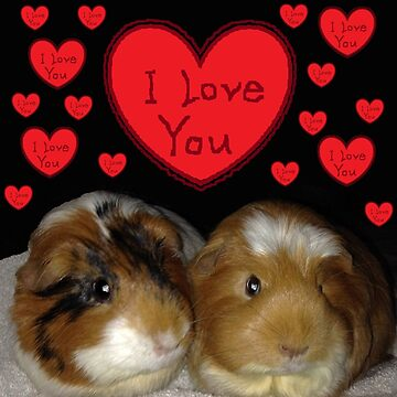 I Love My Piggies by JLHDesign