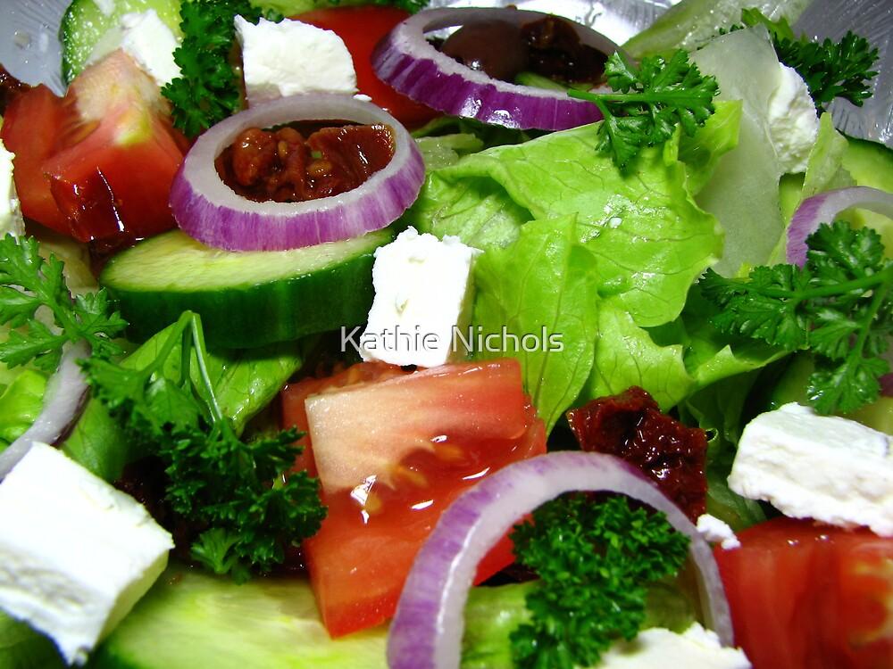 Greek Style Salad by Kathie Nichols